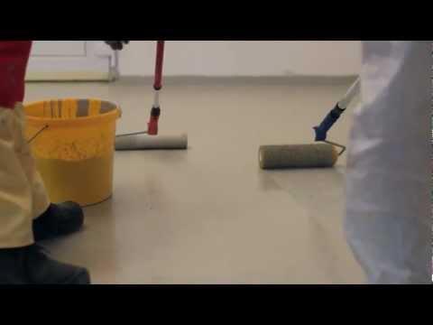 Jak srovnat betonovou podlahu