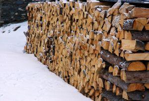 Sušení dřeva na topení